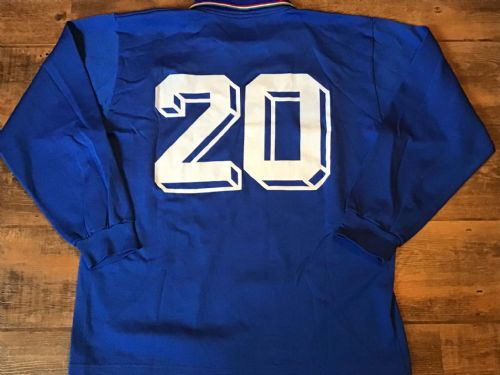 1987 Italy  No 20 Player Issue L/s Football Shirt Adults Large Italia Maglia